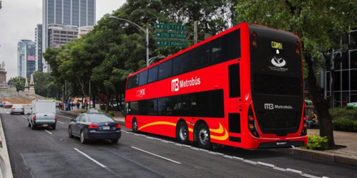 Metrobús Reforma recibirá primeros autobuses en abril
