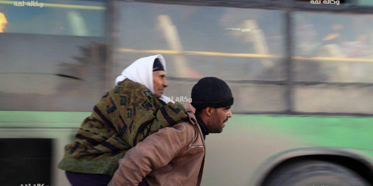 Tras 5 años de guerra, así se vivió la evacuación de Alepo, Siria
