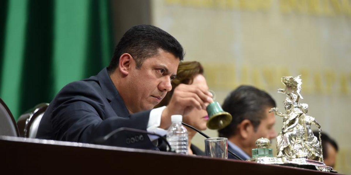 Javier Bolaños presidirá Comisión Permanente del Congreso de la Unión
