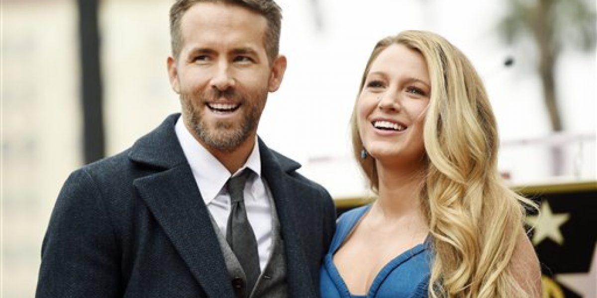 Ryan Reynolds es honrado con estrella en el Paseo de la Fama