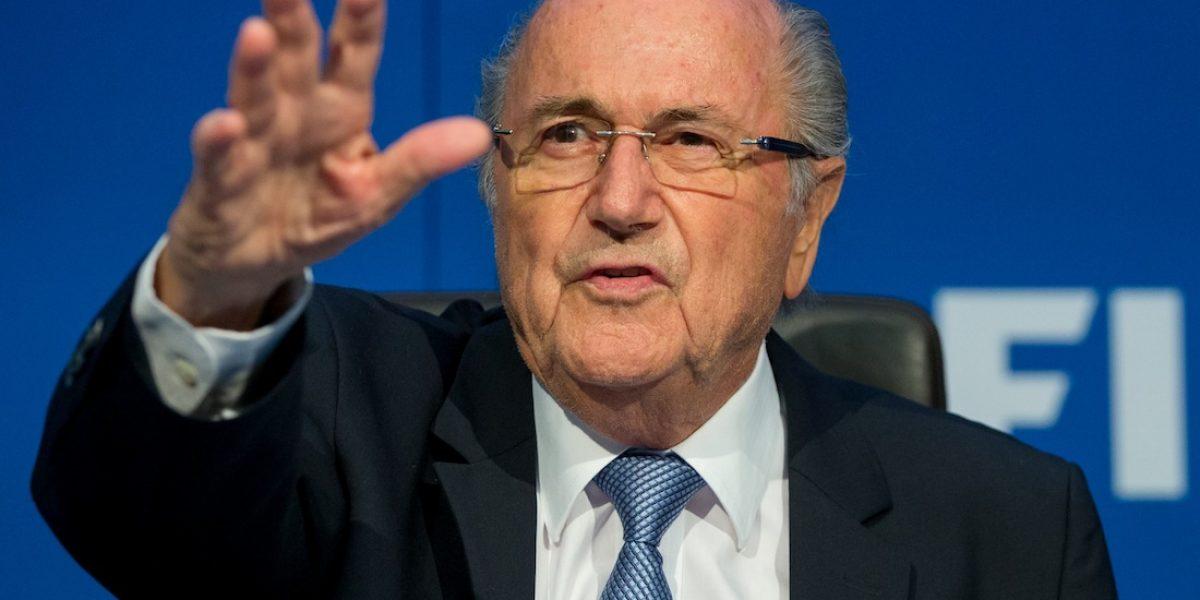 Joseph Blatter arremete contra el presidente de la FIFA