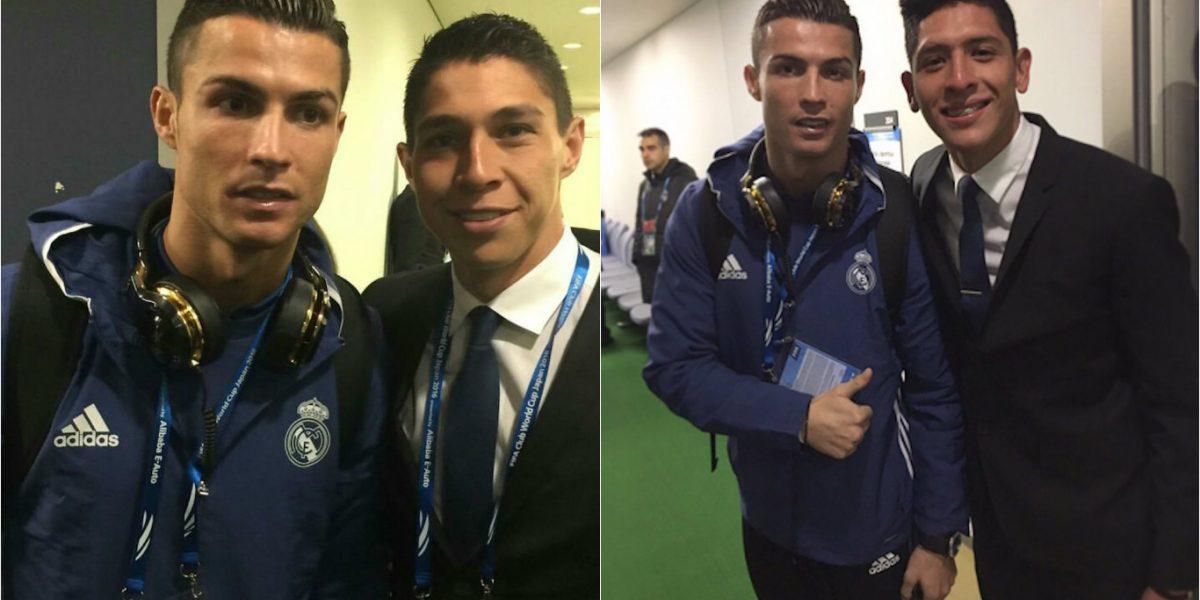 Jugadores del América presumieron fotos con Cristiano Ronaldo