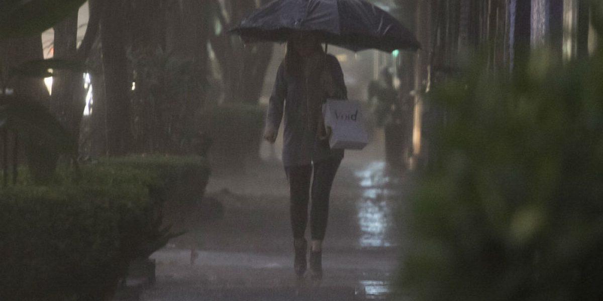 Pronostican tormentas muy fuertes en la CDMX y 14 estados