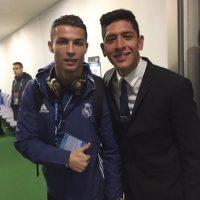 . Imagen Por: Jugadores del América presumieron fotos con Cristiano Ronaldo. / Twitter: @EdsonAlvarez19