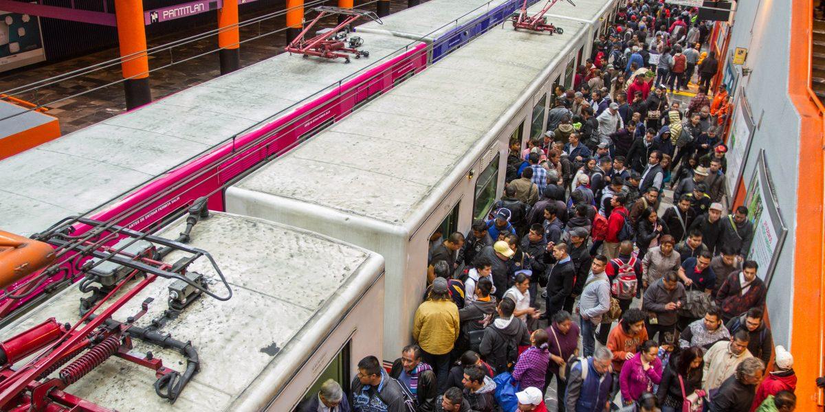 La estación más usada del STC Metro no tiene red contra incendios