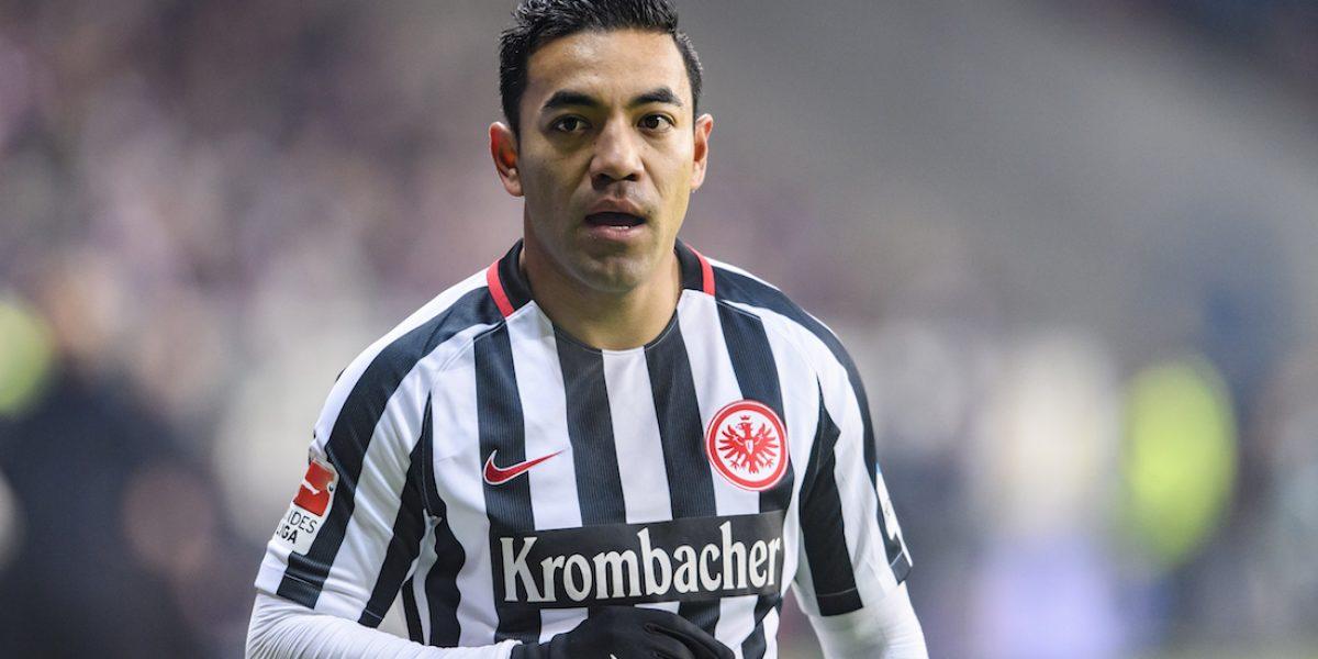 Falla Marco Fabián el empate para Eintracht y caen en Bundesliga