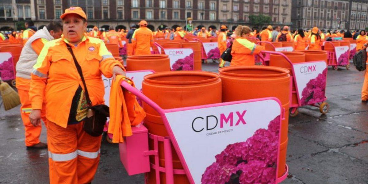 El 70% de quienes limpian las calles de la CDMX son mujeres