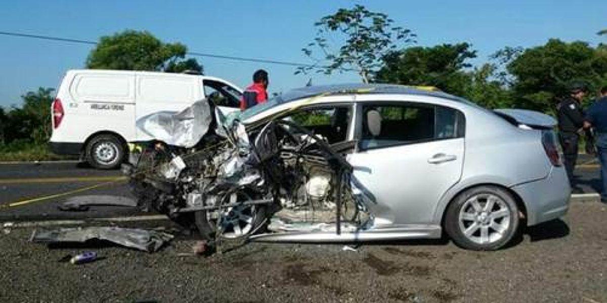 Mal inicio de vacaciones: accidente en Veracruz deja una niña muerta