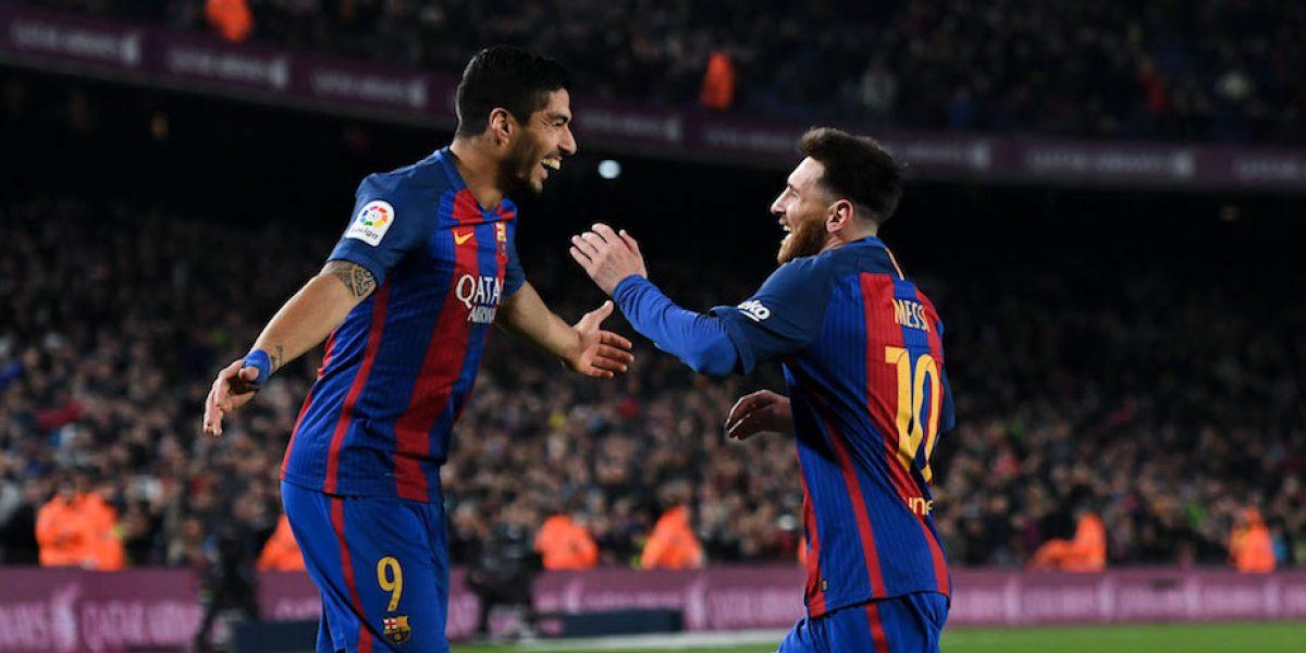 Barcelona golea y le pisa los talones al Real Madrid en la Liga