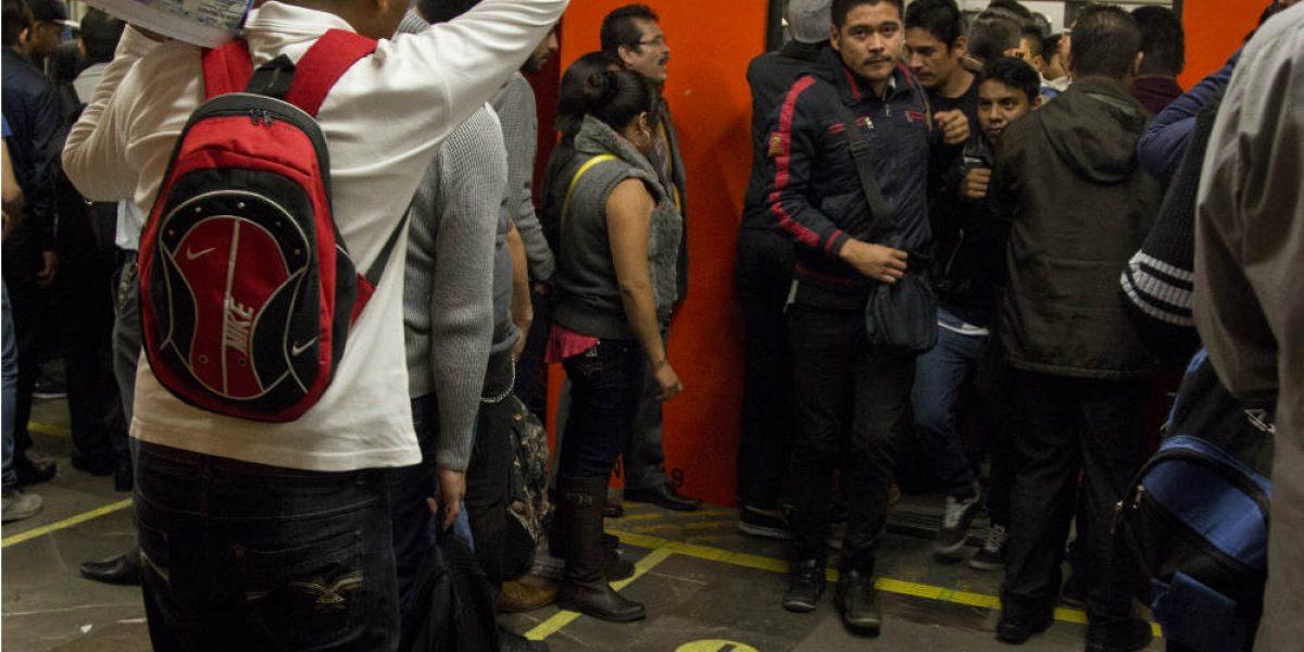 Filas del Metro irán a Pino Suárez en enero