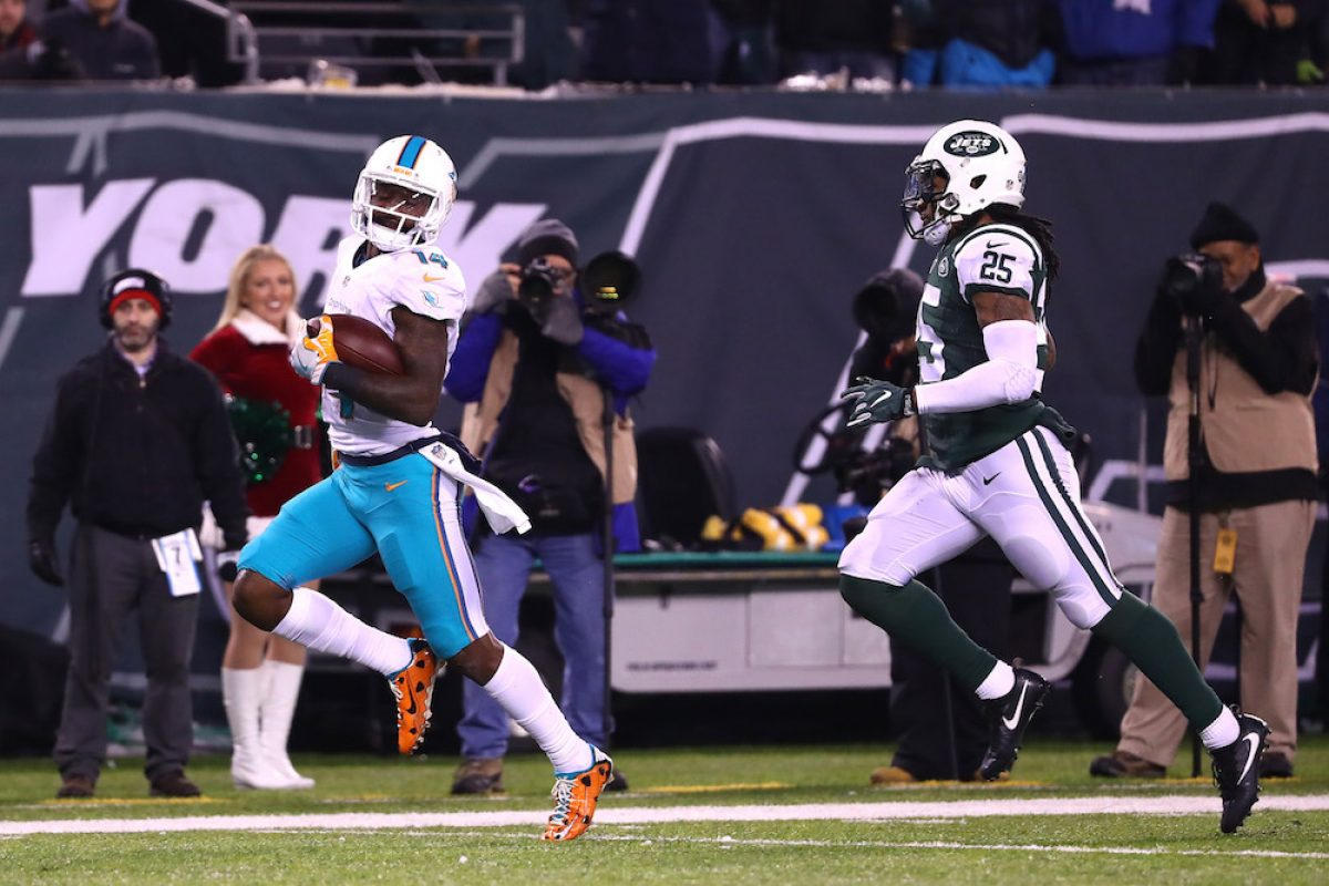 © 2016 Getty Images. Imagen Por: Dolphins 34-13 Jets. / Getty Images