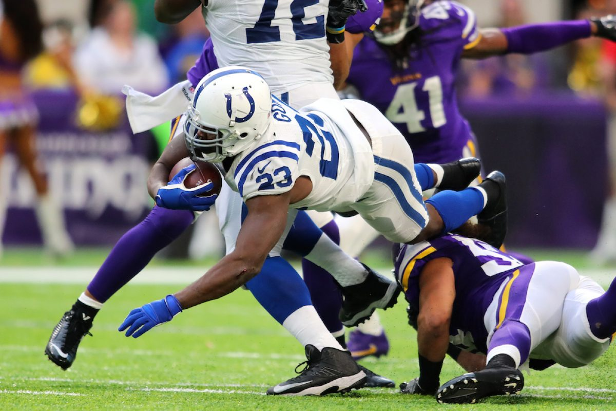 © 2016 Getty Images. Imagen Por: Colts 34-6 Vikings. / Getty Images