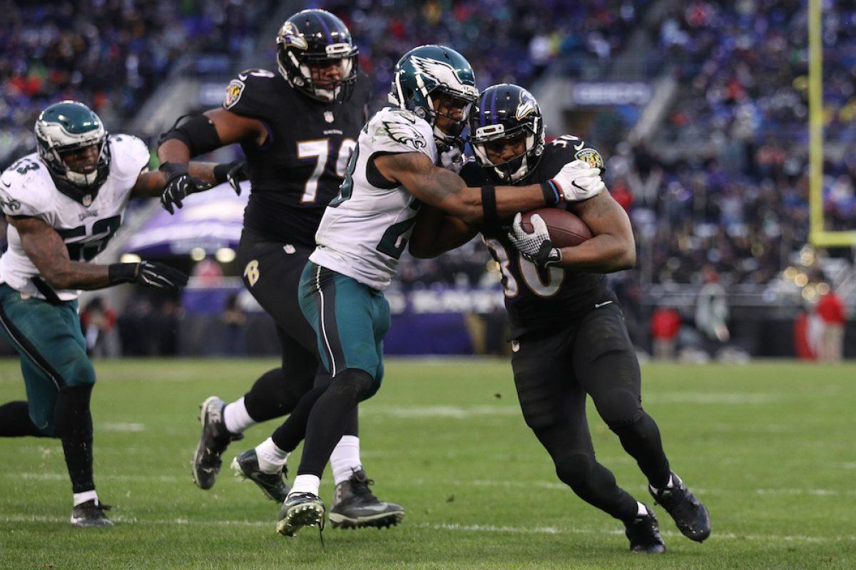 © 2016 Getty Images. Imagen Por: Eagles 26-27 Ravens. / Getty Images