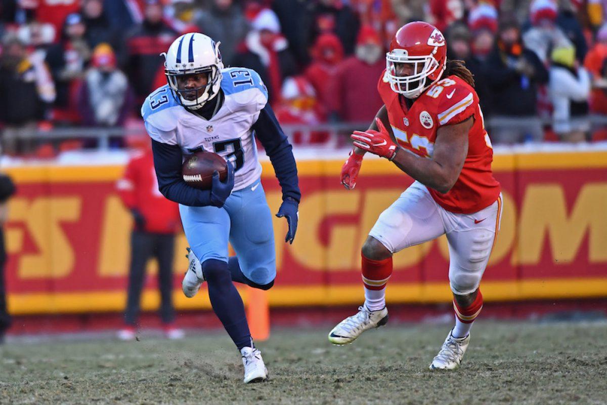 © 2016 Getty Images. Imagen Por: Titans 19-17 Chiefs. / Getty Images