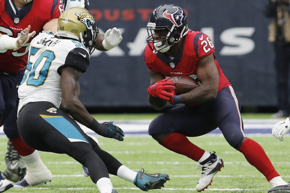 © 2016 Getty Images. Imagen Por: Jaguars 20-21 Texans. /Getty Images