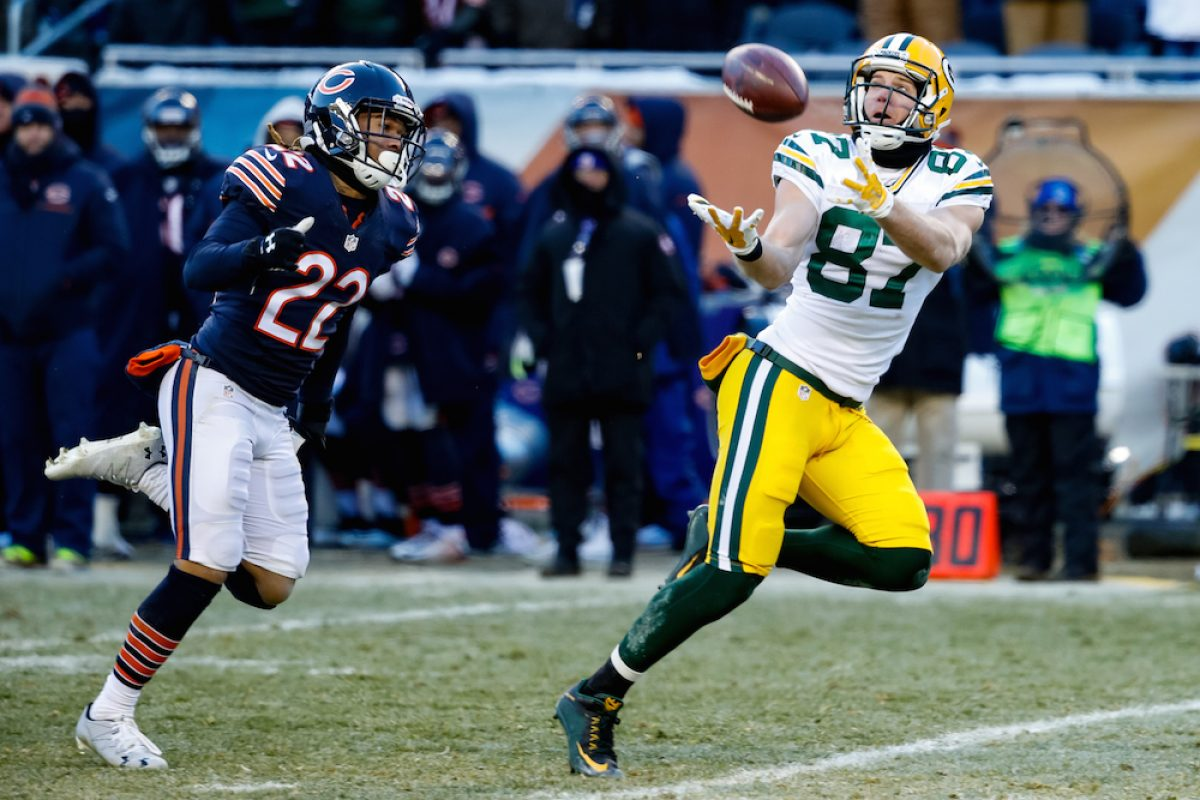 © 2016 Getty Images. Imagen Por: Packers 30-27 Bears. / Getty Images