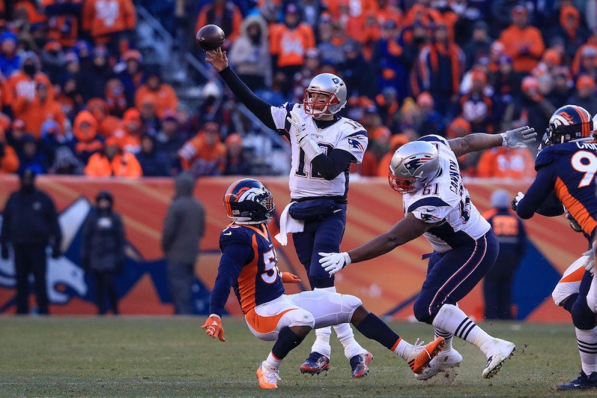 © 2016 Getty Images. Imagen Por: Patriots 16-3 Broncos. / Getty Images