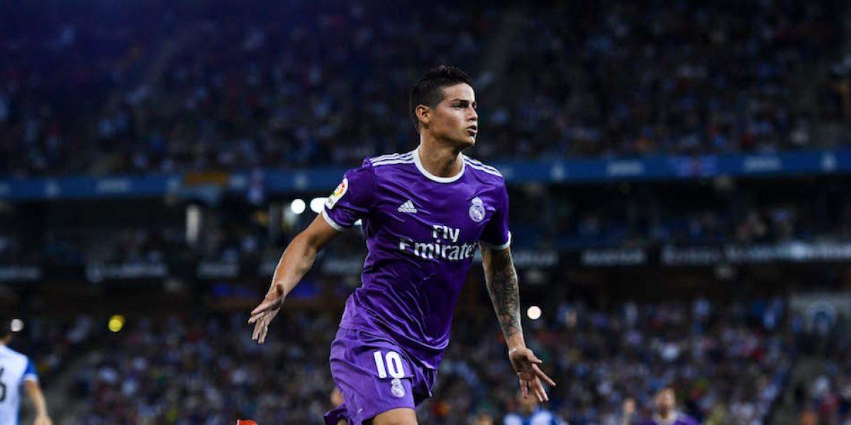 James Rodríguez podría dejar el Real Madrid