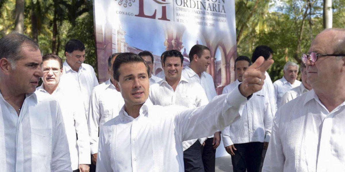 Aumento de violencia, responsabilidad de gobiernos locales: Peña Nieto