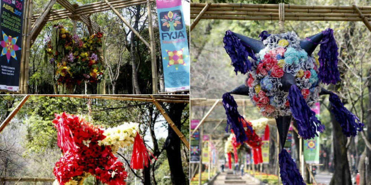 Piñatas en Reforma: capitalinos disfrutan expo
