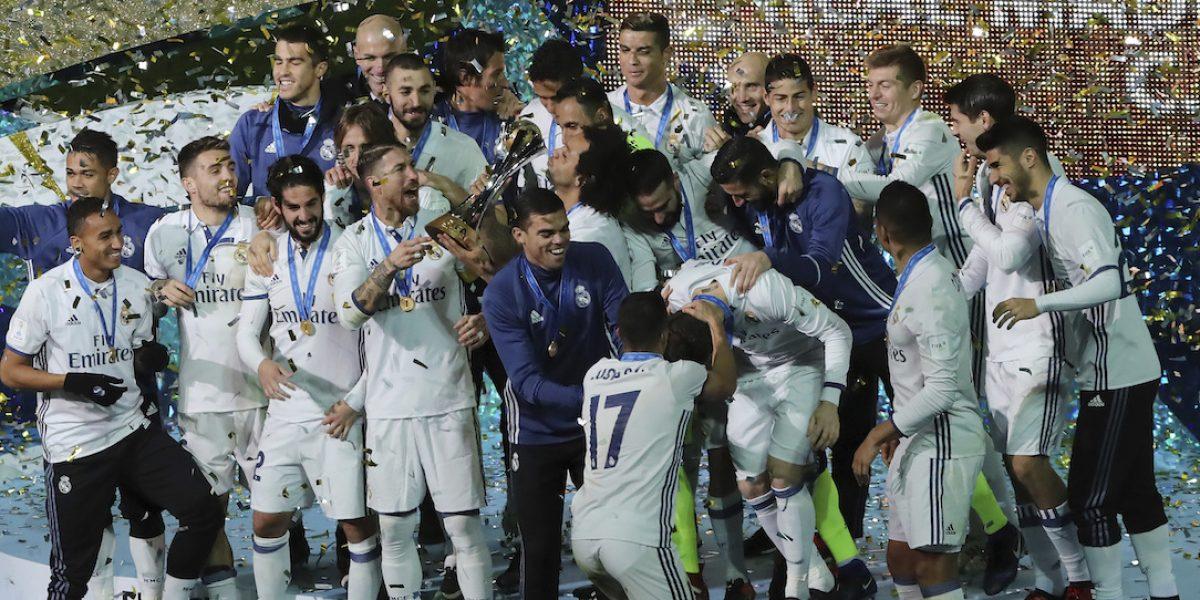 ¡Sufrió el Real Madrid! Triplete de CR7 para coronarse en el Mundial de Clubes