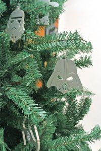 También puedes encontrar decoraciones navideñas temáticas de Star Wars.. Imagen Por: Nicolás Corte/ Publimetro