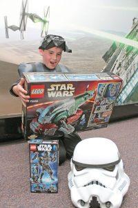 Las figuras armables son muy populares entre los pequeños, sobre todo si son de Star Wars.