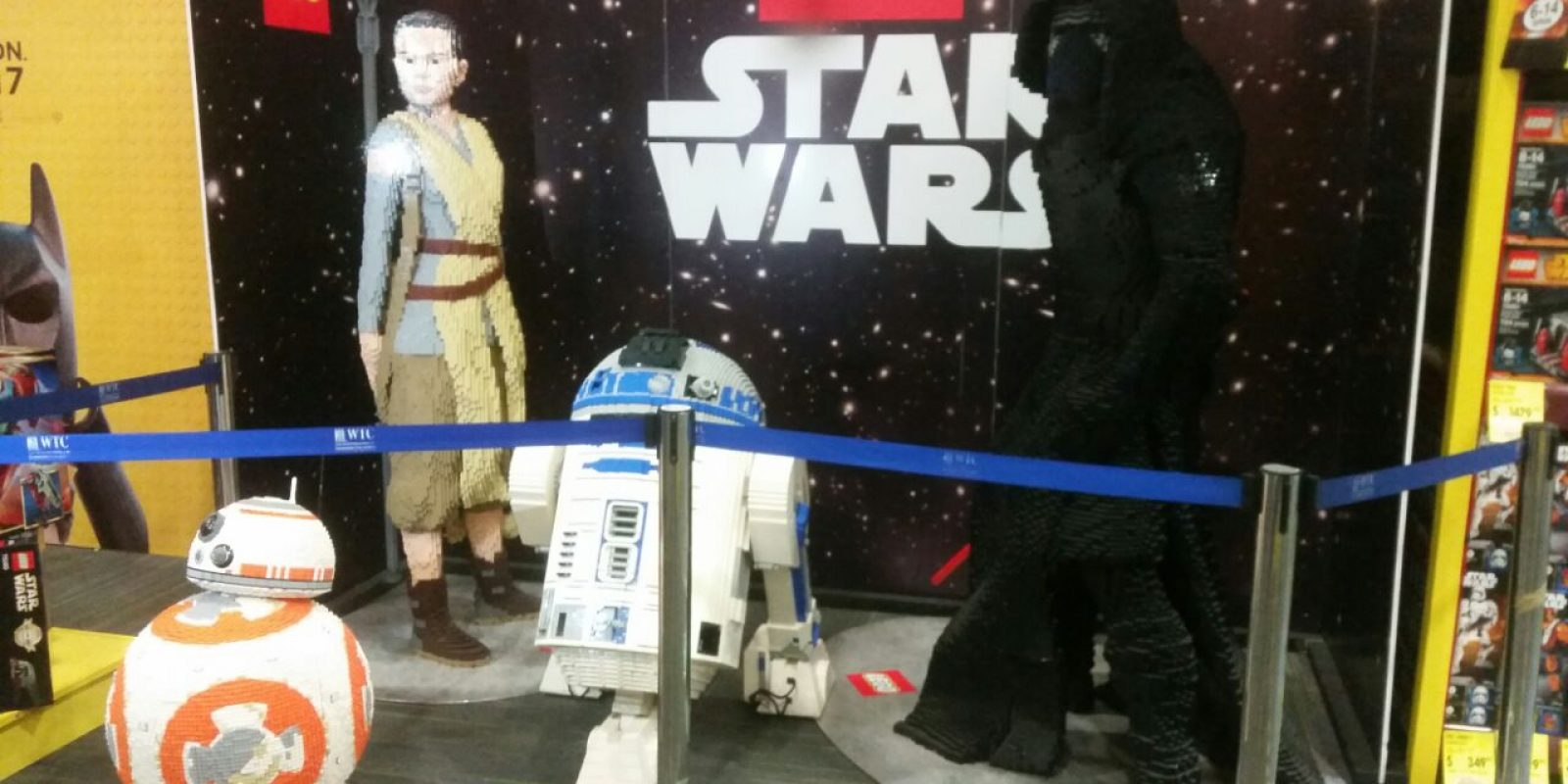 Lego Star Wars. Imagen Por: Alexandra Ortiz