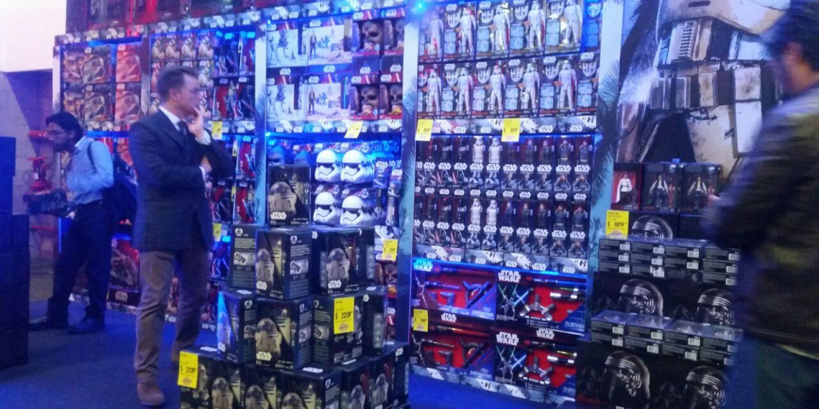 Star Wars tiene un estreno acompañado de varios juguetes. Imagen Por: Alexandra Ortiz
