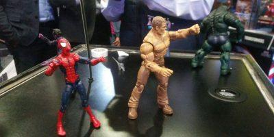 Los héroes tiene varias figuras de acción. Imagen Por: Alexandra Ortiz