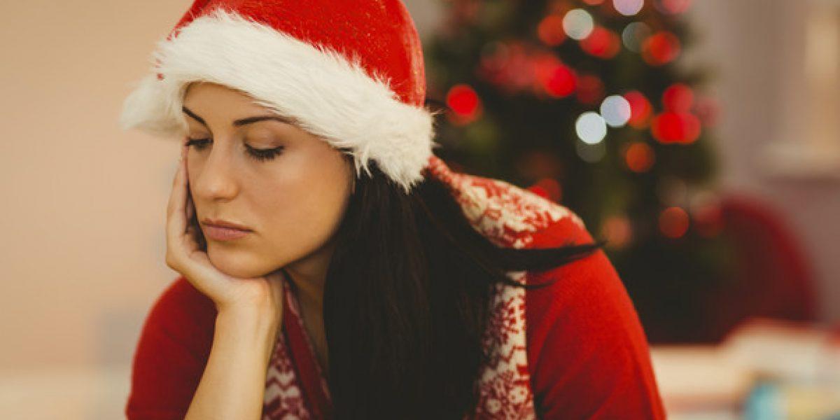 ¿Por qué las personas padecen más depresión en navidad?