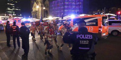 © Copyright 2016 The Associated Press. All rights reserved.. Imagen Por: La escena donde un camión atropelló a varias personas en Berlin, Alemania | Foto: AP
