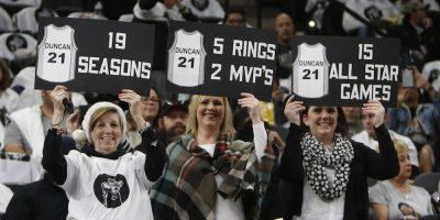 © 2016 Getty Images. Imagen Por: Spurs retiran el número del legendario Tim Duncan