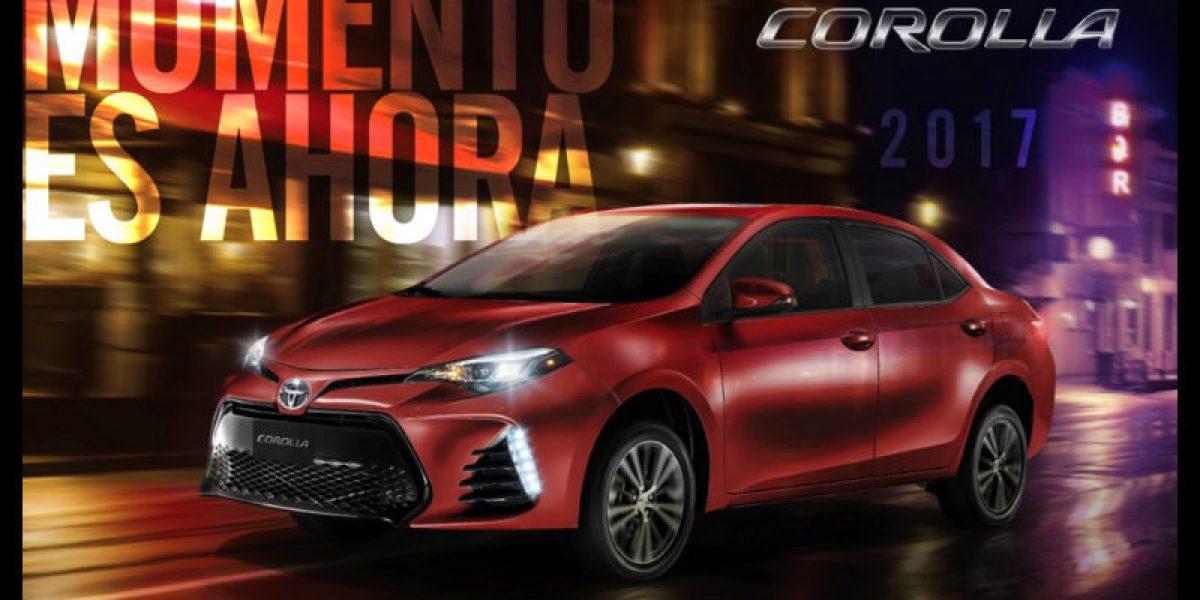 Infografía del Toyota Corolla 2017