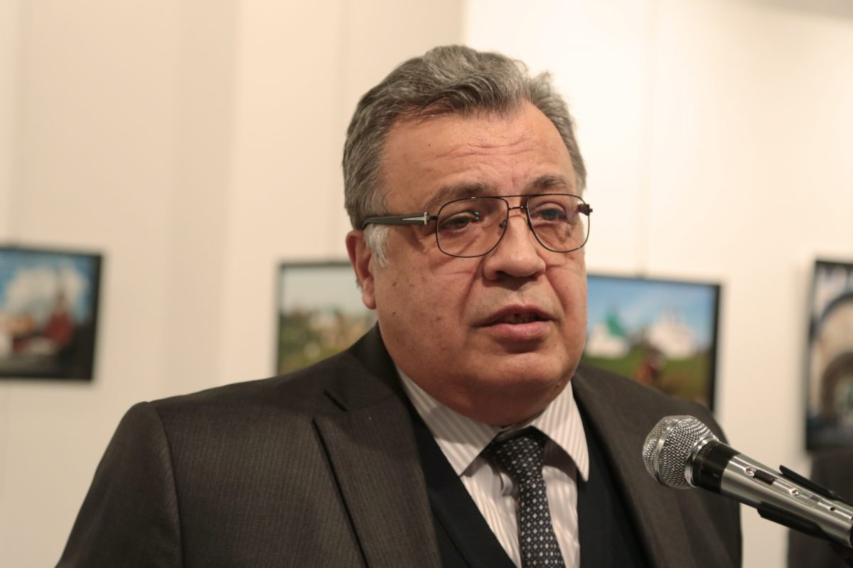 Turkey Russian Ambassador. Imagen Por: | Foto: AP