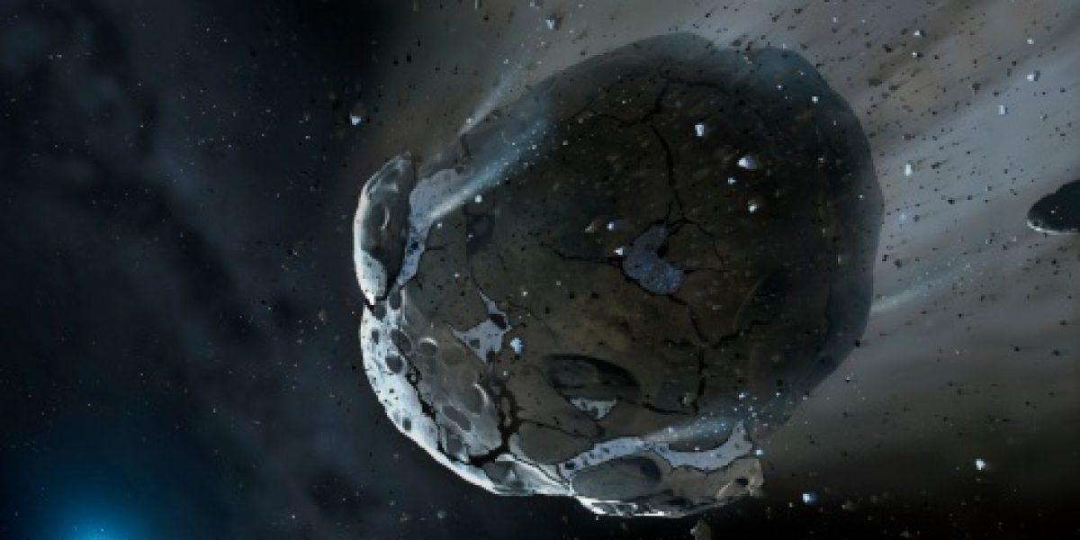 ¿Se puede desviar la trayectoria de un asteroide?