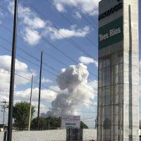 Explosión en Tultepec. Imagen Por: Explosión en Tultepec |Foto. Ricardo H B @rykyuno ·