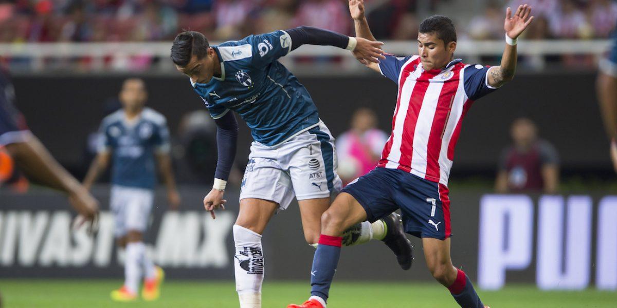 Chivas es goleado por Monterrey en partido de preparación