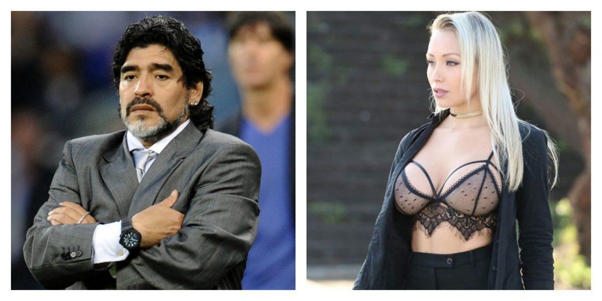 """Daniella Chávez explota contra Maradona: """"No se puede llamar persona"""""""
