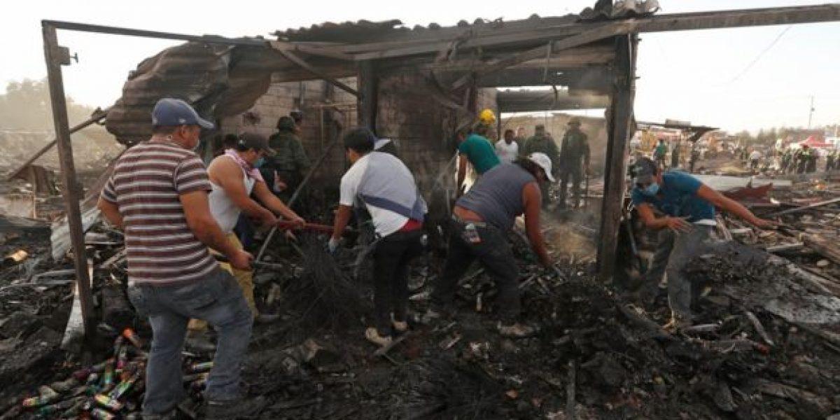 Peña Nieto expresa condolencias por fallecidos en explosión de Tultepec