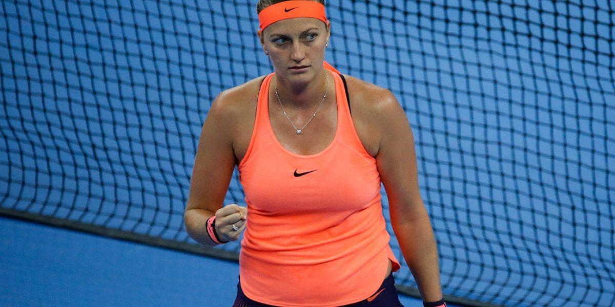 Tenista Petra Kvitova es atacada a puñaladas por un ladrón