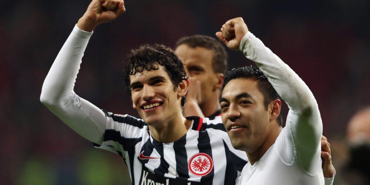 Marco Fabián y Eintracht cierran  2016 con triunfo en Bundesliga