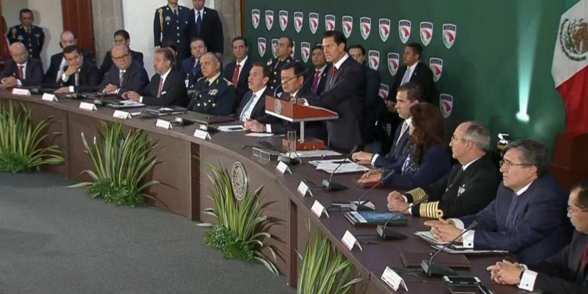 Urge al presidente Peña Nieto actualizar el modelo policial