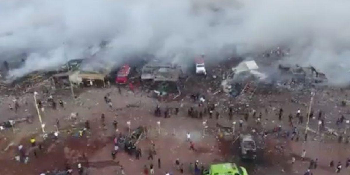 De miedo y de pavor: testimonio de la explosión de mercado de San Pablito