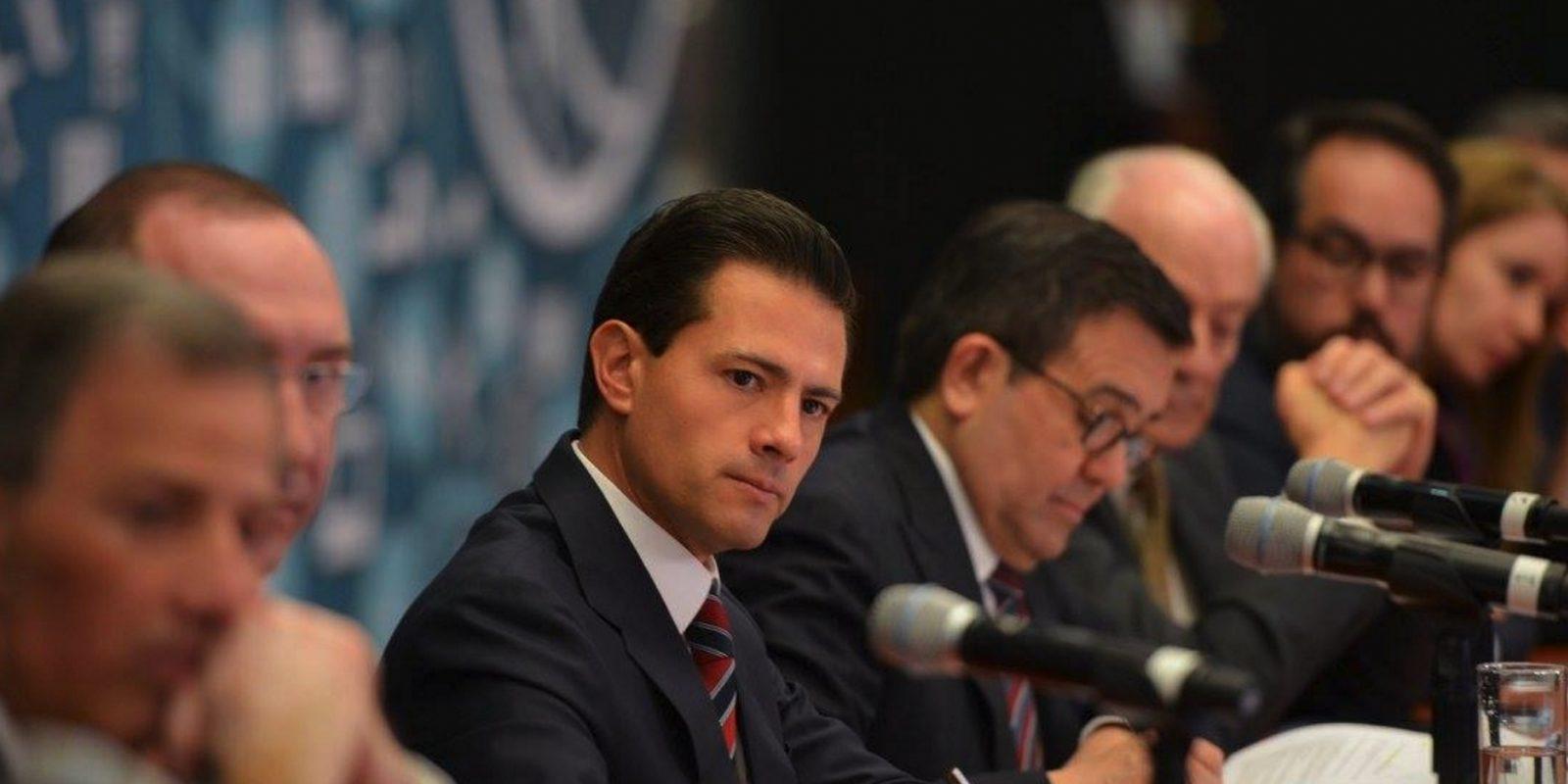 Recibe Peña Nieto propuesta de empresarios para un crecimiento incluyente. Imagen Por: Presidencia de la República