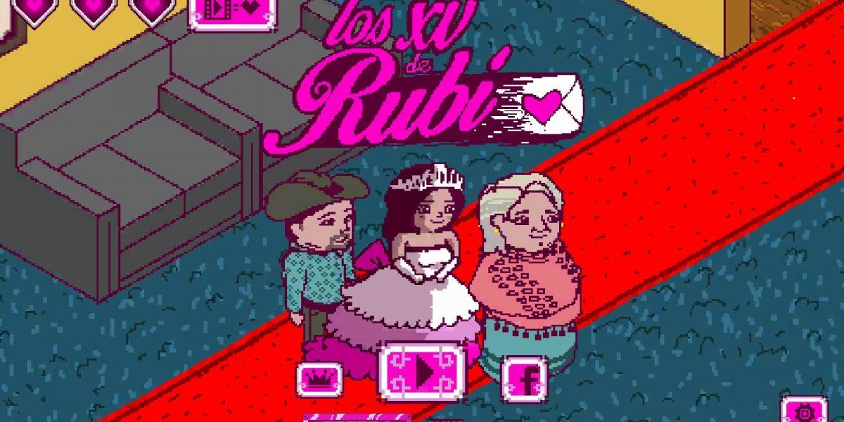 Los XV años de Rubí ya tienen videojuego para celular