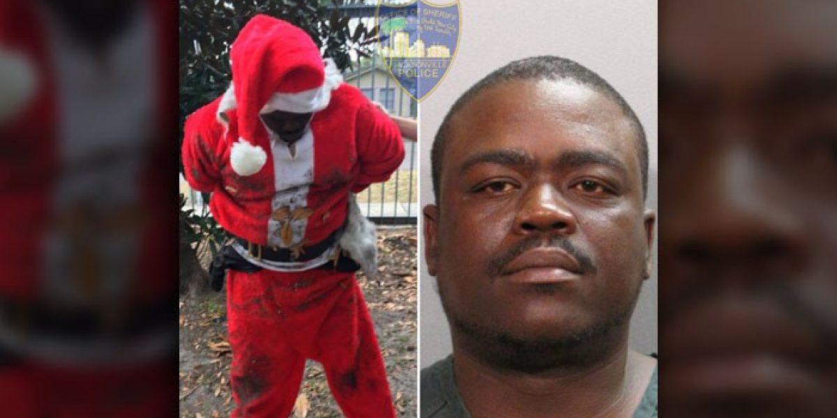 "Policía arresta a ""Santa Claus"" por vender marihuana"