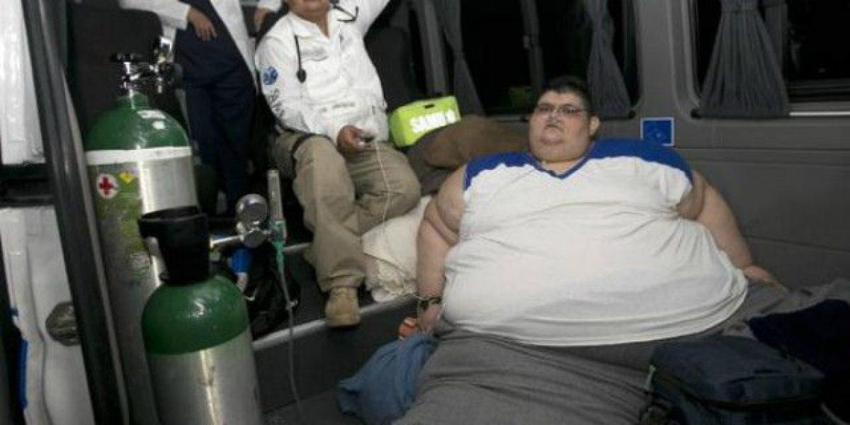 Hombre más obeso del mundo inicia tratamiento para perder peso