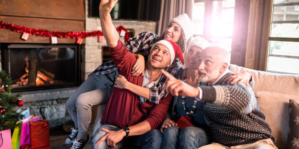 Consejos para lograr una buena foto familiar en Navidad