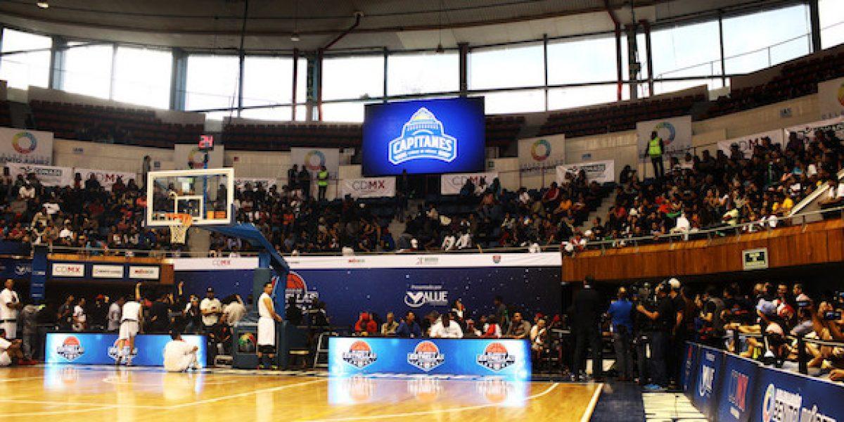 Revelan nueva casa de Los Capitanes, equipo de basquetbol profesional de la CDMX